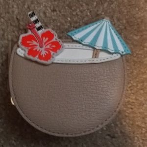 Kate Spade... Vacation drinks coin purse new